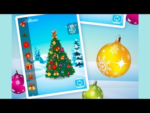 christmas tree decoration game for children christmas games for kids