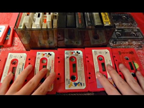 ASMR Intense Retro Tingles | Cassette Tapes | Tapping, Sorting & Clicking Sounds Mp3