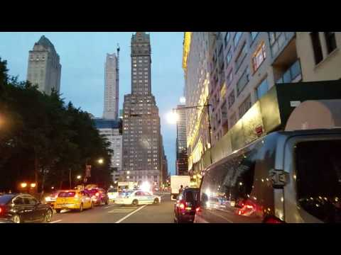 Combative EDP Forces NYPD Officers To Pursue Him In Traffic On 59th Street In Midtown, Manhattan, NY