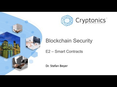 Blockchain Security EP2 - Smart Contracts
