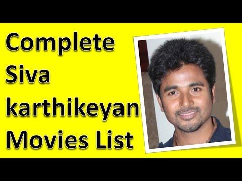 Sivakarthikeyan Movies List - YouTube