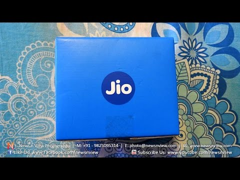 Jiofi2 Unboxing and Review - Reliance Jio 4G MiFi Wireless Hotspot Router Available NOW