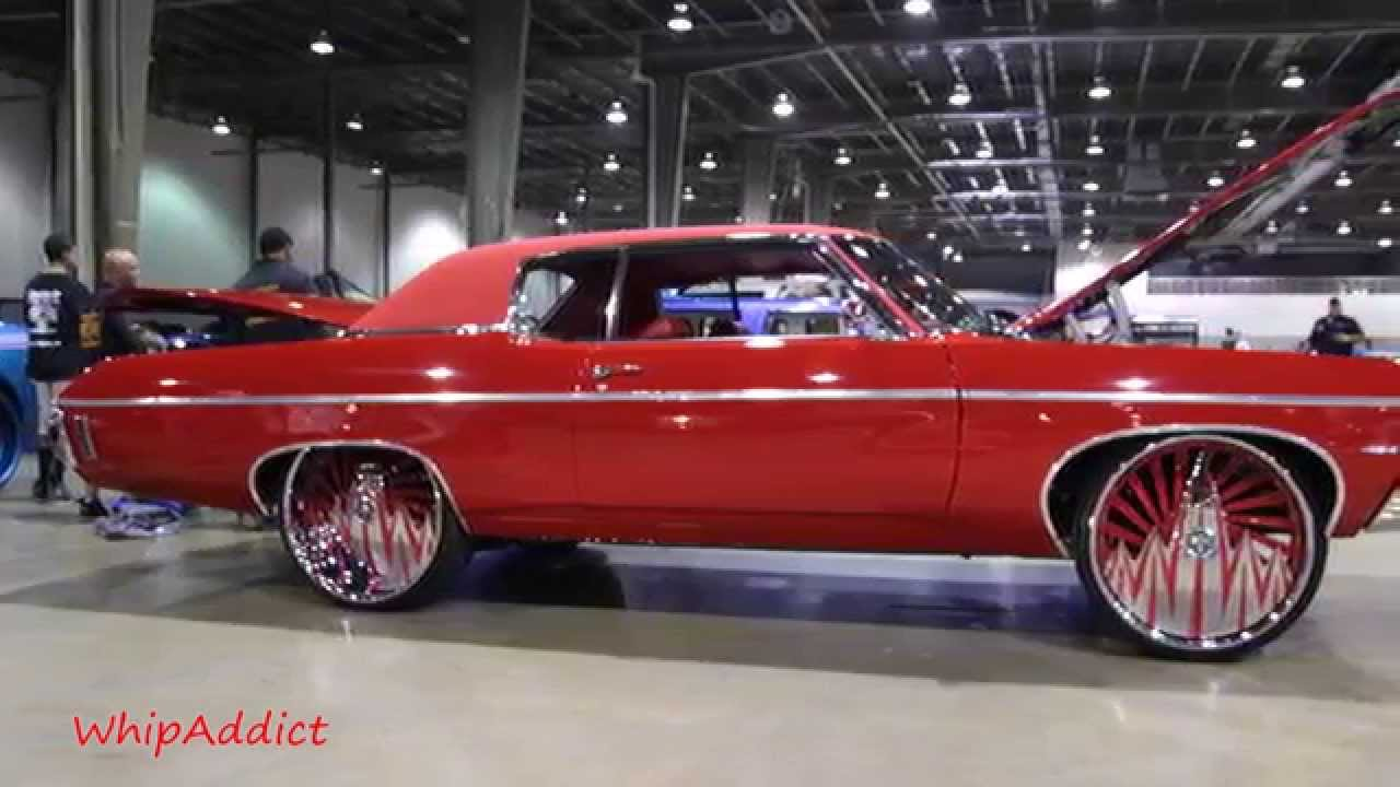 WhipAddict: 70\' Chevy Impala SS 454 on DUB F.U. 26s at the Queen ...