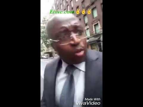 """Le Directeur de cabinet Martin bigoukouma humilié ,chassé et froissé puis le """"rhume"""" qui coule 😂😂"""