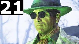 Fallout 4 Walkthrough Gameplay Part 21 - Carrington