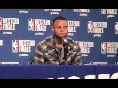 """Stephen Curry says he """"blacked out"""" when he said """"this is my f---ing house"""""""