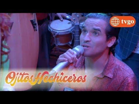 ¡Rolando le pide matrimonio a Sabrina en plena presentación! - Ojitos hechiceros 19/04/2018