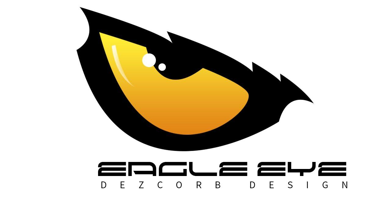 How to create Logo in photoshop cs6 | Eagle Eye - YouTube