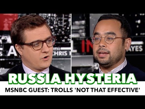 Journalist Stuns MSNBC Host: Russian Trolls 'Not That Effective'