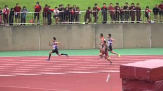 平成27年度 長崎市中総体 男子共通400R 決勝