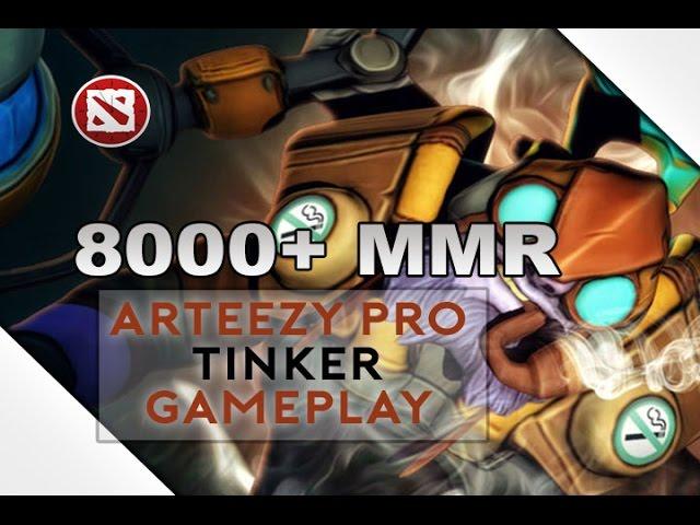 Arteezy Pro Tinker Gameplay