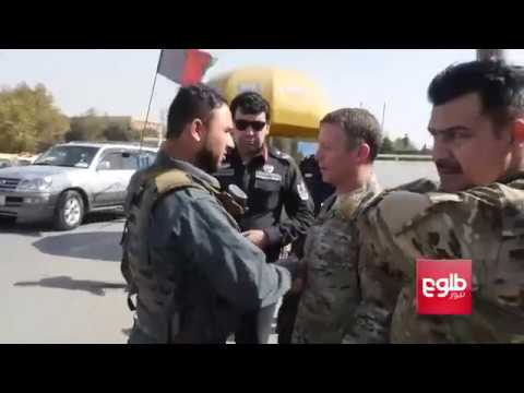 Gen. Austin Scott Miller Chats With Afghan Forces On Kabul Streets