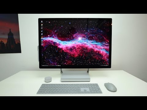 Surface Studio: Microsoft's nicest computer ever