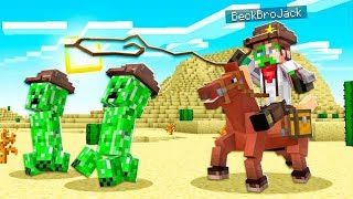 TIME TRAVELING TO THE WILD WEST OF MINECRAFT!