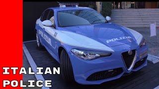 Italian Police 2017 Jeep And Alfa Romeo Vehicles