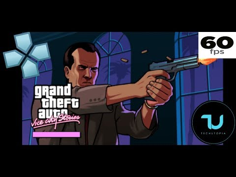 GTA: Vice City Stories 60 FPS PPSSPP Android Gameplay/Full Speed/Cheat/Hack/Max Settings 5X