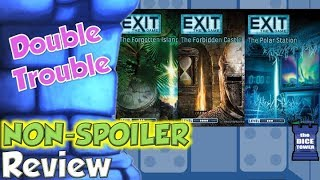 Exit: The Game 4,5, & 6 Review - Double Trouble