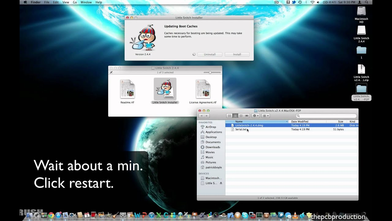 Installing Little Snitch for mac with a serial for free (Tutorial)