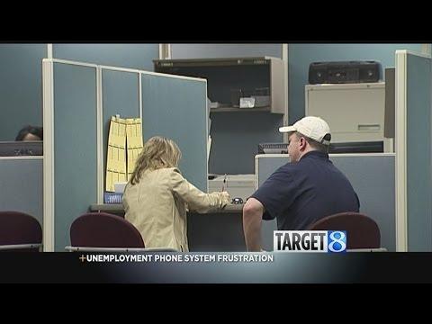 Target 8: Unemployment phone line frustration