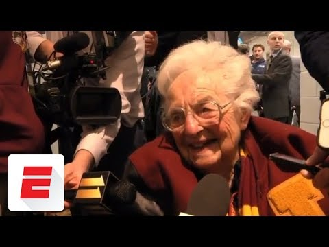 See Emotional Sister Jean after Loyola-Chicago Reaches Elite Eight!