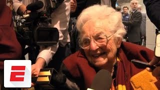 Sister Jean emotional after Loyola-Chicago reaches Elite Eight | ESPN