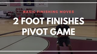 HOW TO FINISH OFF 2 FEET | KYRIE LAYUP PACKAGE