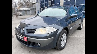 Автопарк Renault Megane 2006 года (код товара 23375)