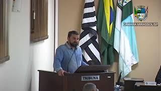 26ª Sessão Ordinária - Vereador Daniel Sotto