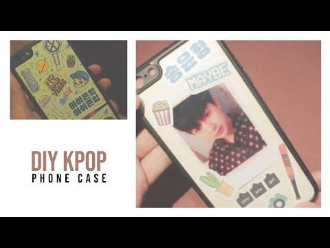 // diy kpop phone case📱✨