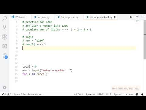 Example 2   For loop   Python tutorial 61 thumbnail