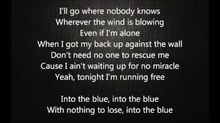 Kylie Minogue - Into The Blue Lyrics