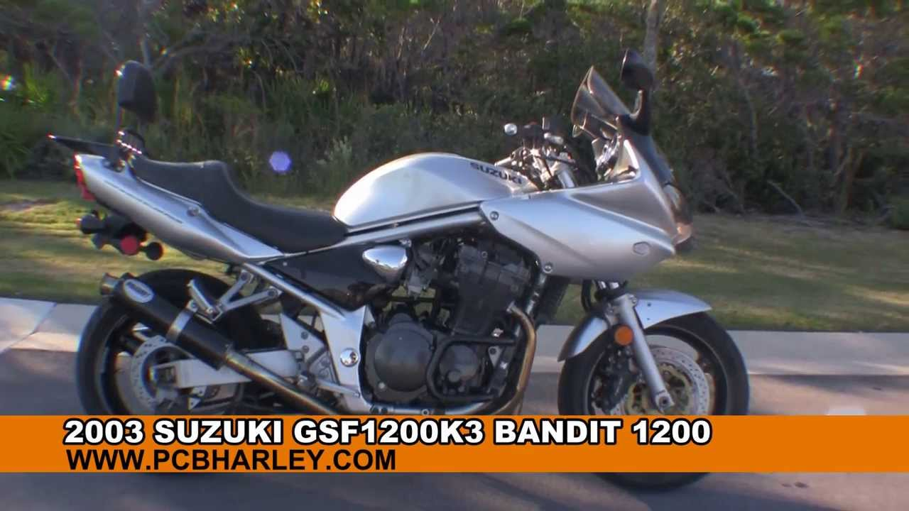 Used Suzuki Motorcycles >> 2003 Suzuki GSF1200K3 Bandit 1200 - Used Motorcycles for sale - YouTube
