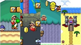 Mario saves Spring Break | Awesome Super Mario World ROM Hack (スーパーマリオワールド)