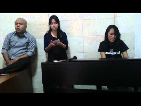 None But Jesus cover by Vannesa Berhitoe, Priskilla Pieter, Steve Rumbayan