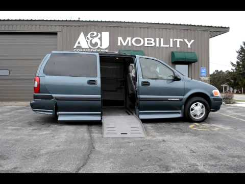 2004 chevy venture wheelchair accessible van youtube youtube