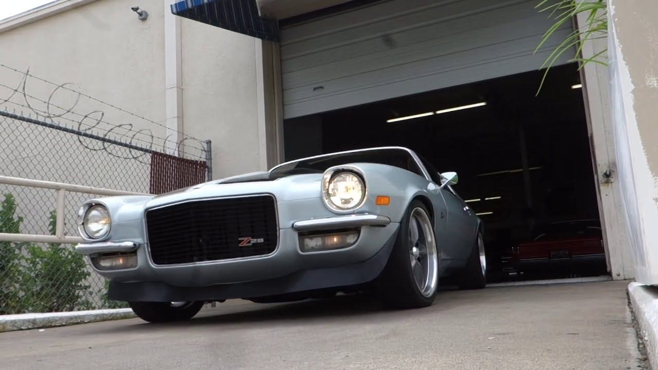 1970 1/2 Chevrolet Camaro Z/28 muscle car - YouTube