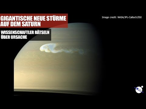 Gigantische neue Stürme auf dem Saturn - Was ist der Grund?