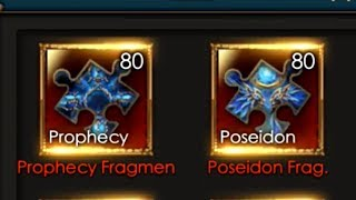 Legacy of Discord: Test with 21.6k Diamonds | 80x Prophecy & Poseidon Fragment