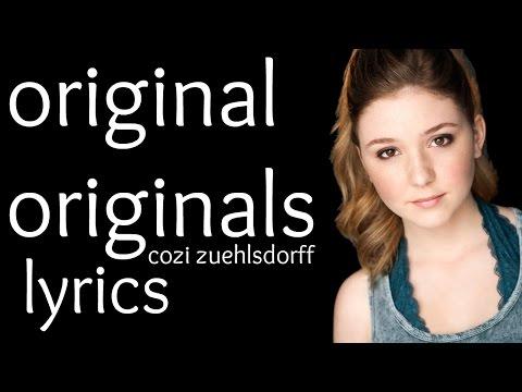 Original Originals- Cozi Zuehlsdorff