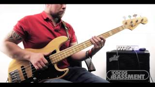 Insane Slap Bass solo Improv Gospel Shout (Marcus Miller Victor Wooten) Style Groove