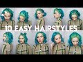 10 EASY SHORT HAIRSTYLES