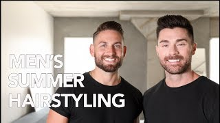 HOW TO: EASY SUMMER HAIRSTYLES | FT. TIM BRYAN