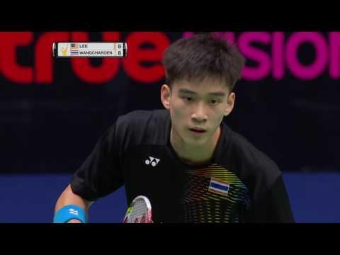 Princess Sirivannavari Thailand Masters 2017   Badminton SF M3-MS   Lee Zii Jia vs K. Wangcharoen