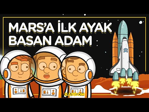 Mars'a İlk Ayak Basan Adam | Uzay Görevi | RANDOM