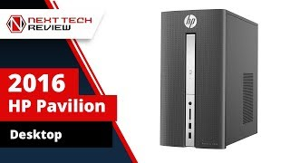 Super Powerful 2016 HP Pavilion Desktop Computer - NTR