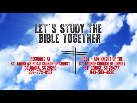 Let's Study The Bible Together - Episode 17 - Acts 9: 1-22