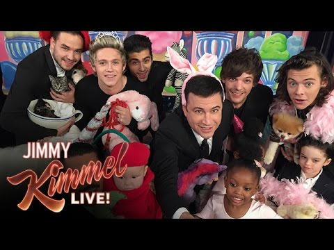 Jimmy Kimmel Amp One Direction Take The Cutestselfieever