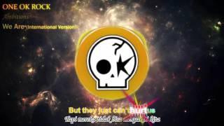 Gambar cover ONE OK ROCK - We Are (International) Lirik Video