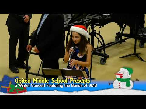 United Middle School - Winter Concert 2018