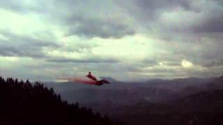 Fourmile Canyon Fire air attack